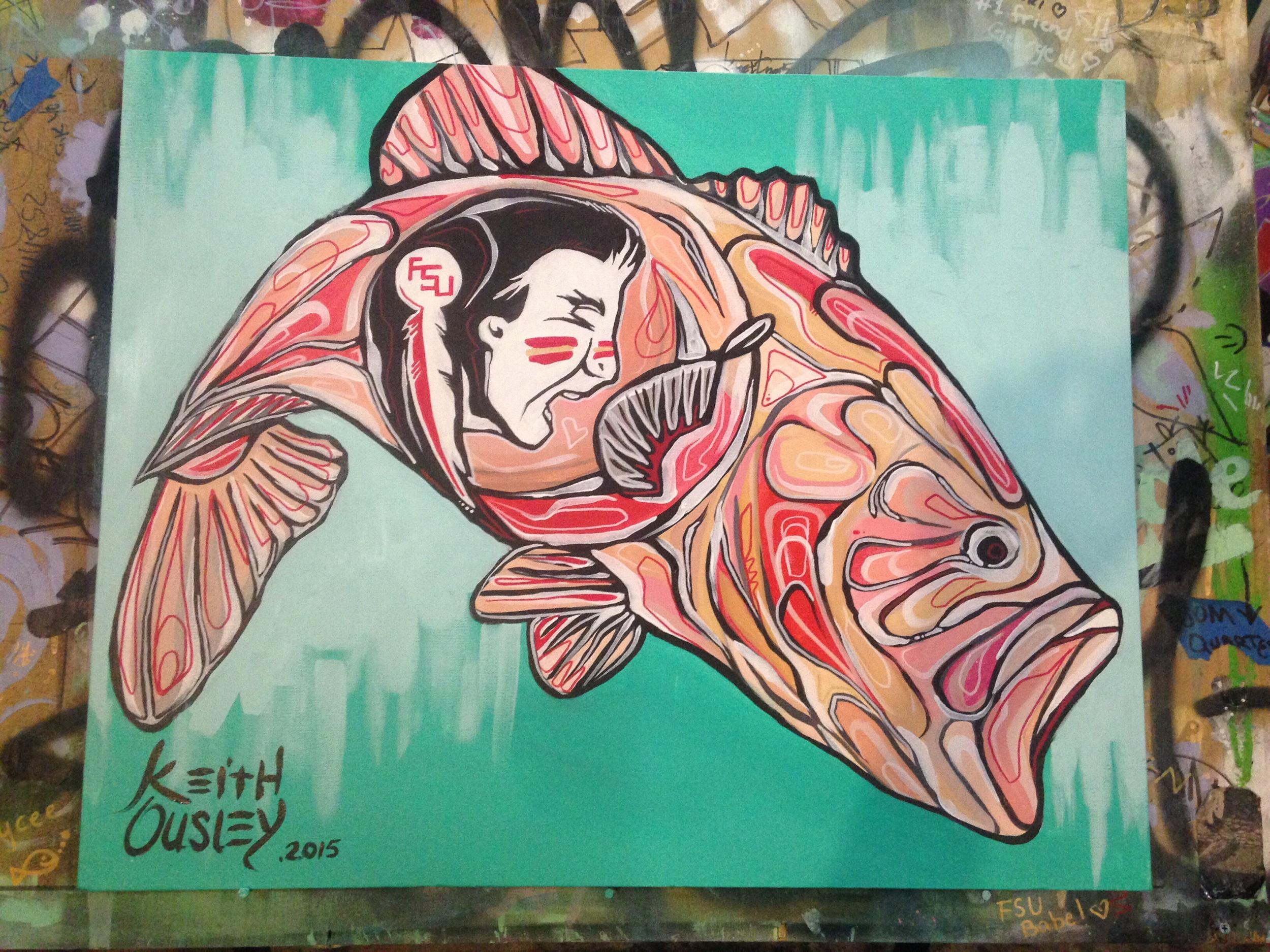 2x3ft acrylic on canvas