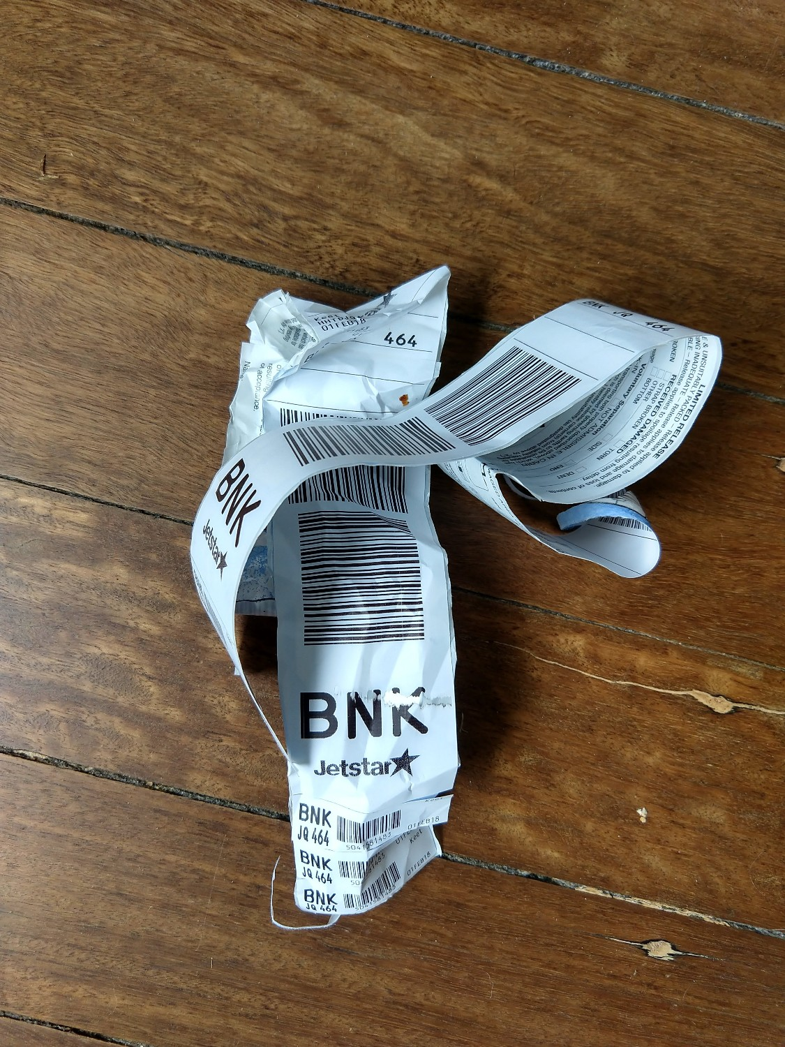 Luggage tags are THE worst! -