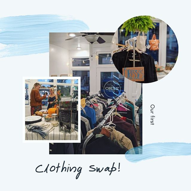 Our first clothing swap was such a success💫 it was so much fun seeing what community members brought & swapped! The energy in the room was contagious- filled with connections and laughter! We are forever grateful to have such a supportive community 💙  We hope to host more in the future! What do you think?✨