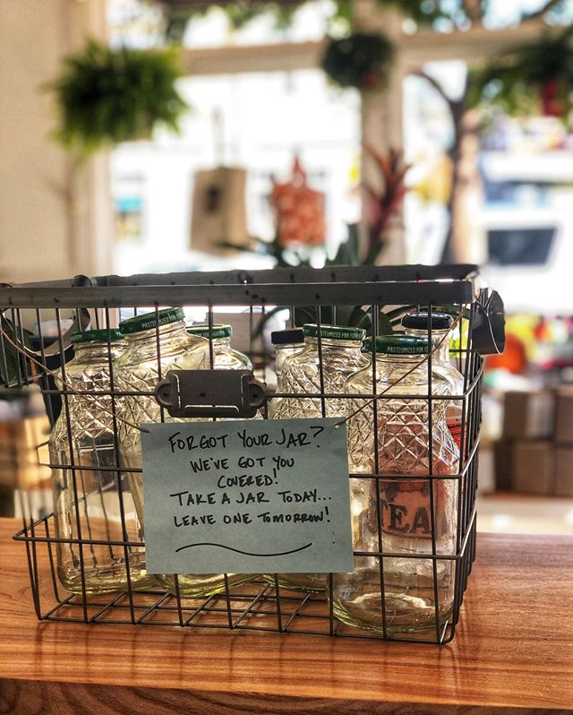 Have you seen our container drop off bin in the shop? Drop off any extra jars, plastic containers, whatever can be used to fill up some goods from our refill station and someone else will be able to use them! ✨⠀⠀⠀⠀⠀⠀⠀⠀⠀ If you do bring some in, please make sure they are clean, and were not previously a home for pickles or any other super smelly foods! Taking off the label is also really appreciated! 🙂⠀⠀⠀⠀⠀⠀⠀⠀⠀ ⠀⠀⠀⠀⠀⠀⠀⠀⠀ ⠀⠀⠀⠀⠀⠀⠀⠀⠀ #zerowaste #stopsingleuseplastic #plasticfree #reuse #reusable #refuse #reducereuserecycle #ouractionsmatter #protectouroceans #sustainable #environment #ecofriendly #green #conscious #renaming #newname #compost #endfoodwaste #plasticpollution #thezeroshopsc #santacruz #capitolavillage #weneedanewname #communityshop #shoplocal #supportlocal #localsmallbusinesses #women-owned #familybiz #daretolead