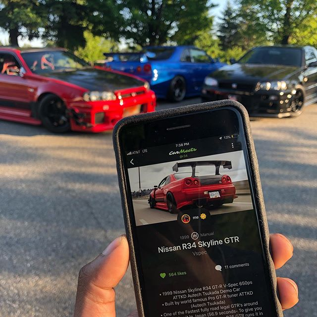 Did you know every vehicle on CarMeets has its own website on our web app? Check out http://web.carmeetsapp.io/v/@r34 #carmeets #app #downloadnow