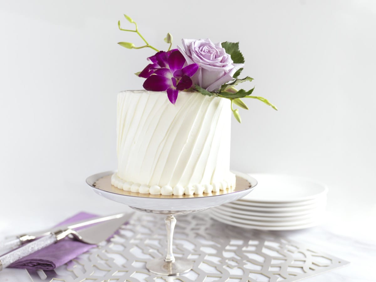 Diagonal Textured Buttercream