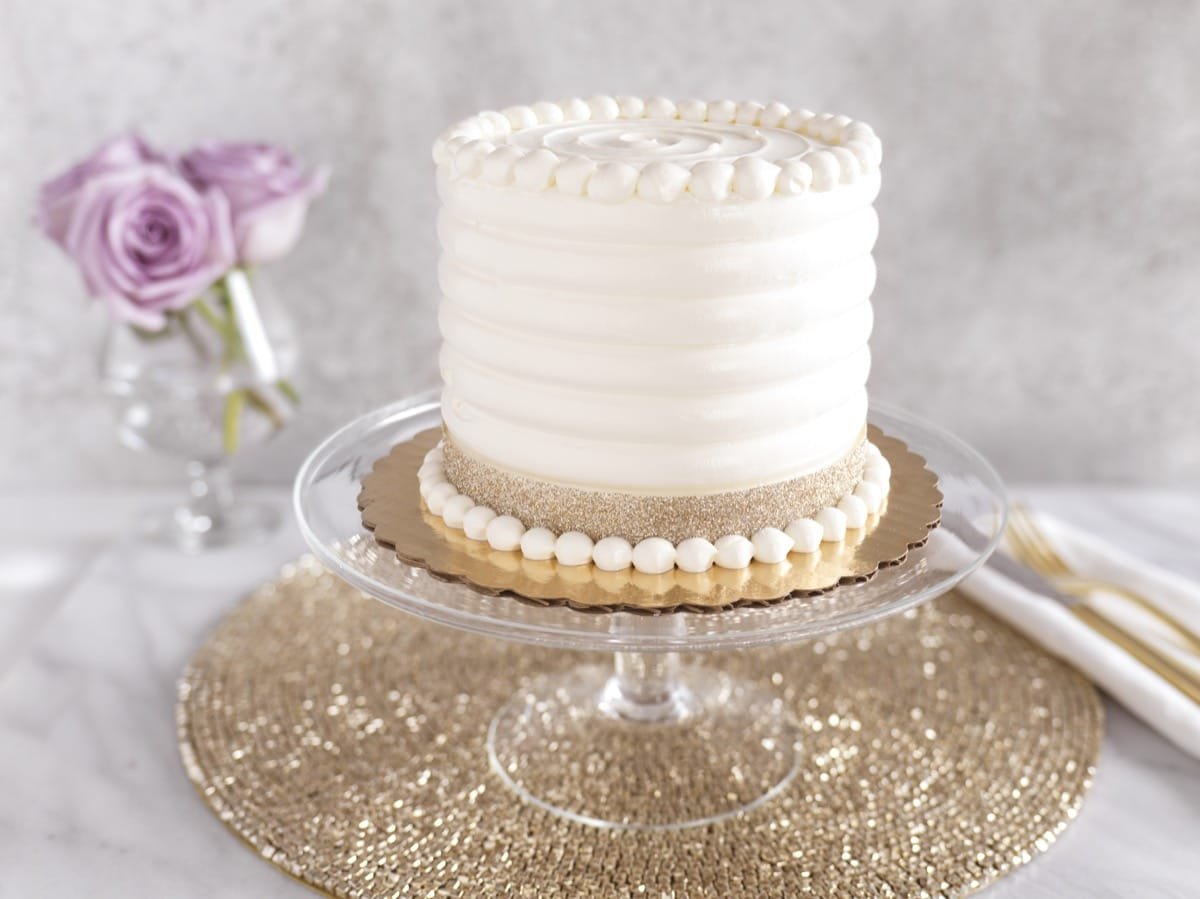 Cake Comb Textured Buttercream