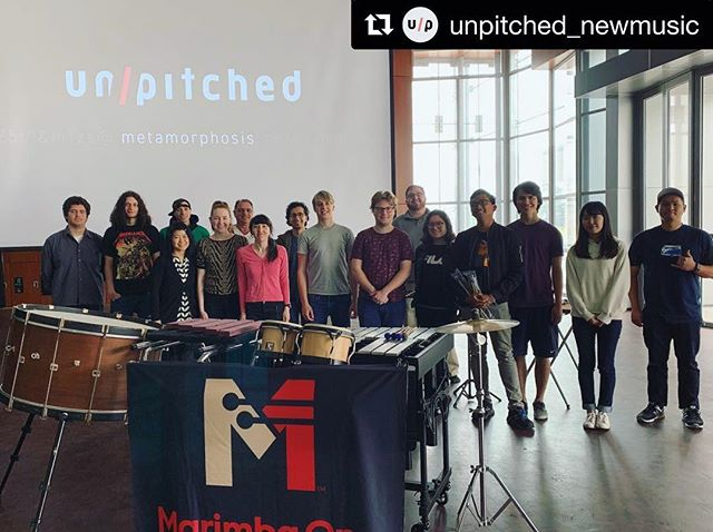 (re-post) We wrapped up the @unpitched_newmusic Metamorphosis tour last week, and had a great time along the way! I'll be posting some performance videos from it soon so stay tuned! ・・・ Our presentation at Santa Monica College last week was the final stop our 2019 Metamorphosis tour! . We've had a blast showing so many different communities the pieces we've commissioned, and have had so many great discussions about new music performance and project building. . Check back here over the next few weeks to catch a glimpse of the compositions we presented over the last few weeks 🎵 . Thank you to @marimbaoneofficial for their support of this tour, and to Ithaca College, Oklahoma City University, Southern Utah University, Cal State Northridge, Redlands University, and Santa Monica College for hosting us!! . And finally, a HUGE thanks to composers @dallasjhoward, @emmanuelberrido, Ninfea Cruttwell-Reade, and Amy Thompson for their contributions to this project. All compositions were performed by percussionist Lindsey Eastham (@lindsey_plays_percussion) . #vibraphone #percussion #composition #newmusic #entrepreneurship #hustle