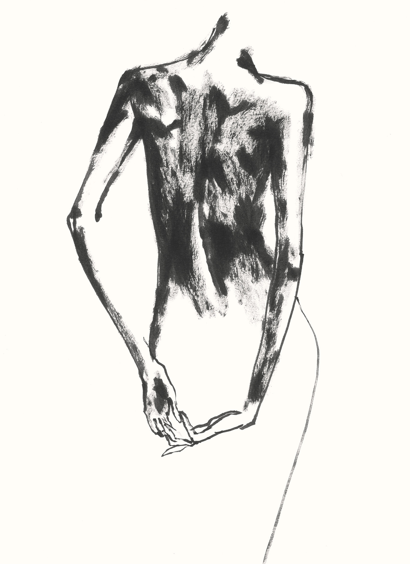 Woman Dancing With Her Hands #42