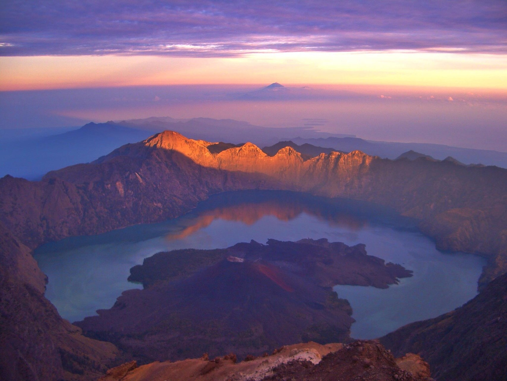 Klatre Mt Rinjani