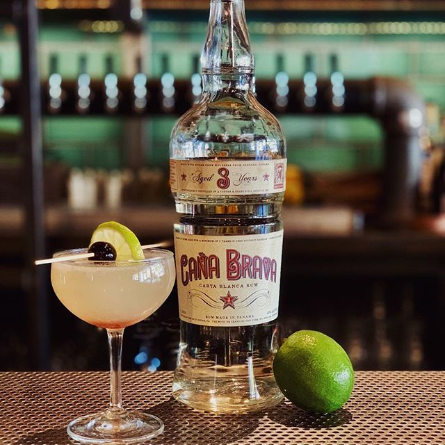"Hemingway Daiquiri // Cana Brava, Luxardo and fresh grapefruit and lime  Travel back to Hemingway's day with us this Halloween night from 7-10 at our Hemingway Speakeasy 🤫 Tickets available by clicking ""get tickets"" on our page or on our Facebook page"