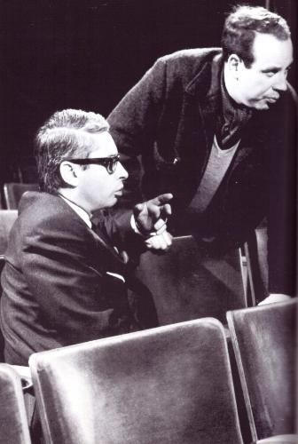 Piet Meerburg (left), 1970