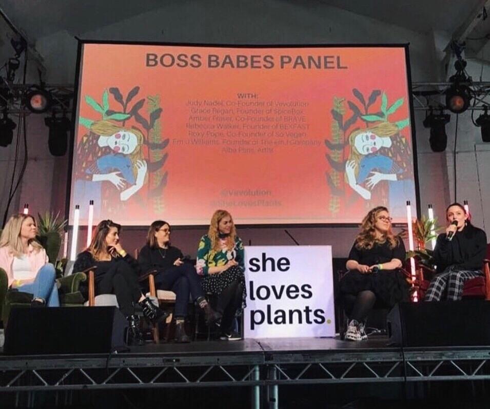 SHE LOVES PLANTS - VEVOLUTION INTERNATIONAL WOMENS DAY