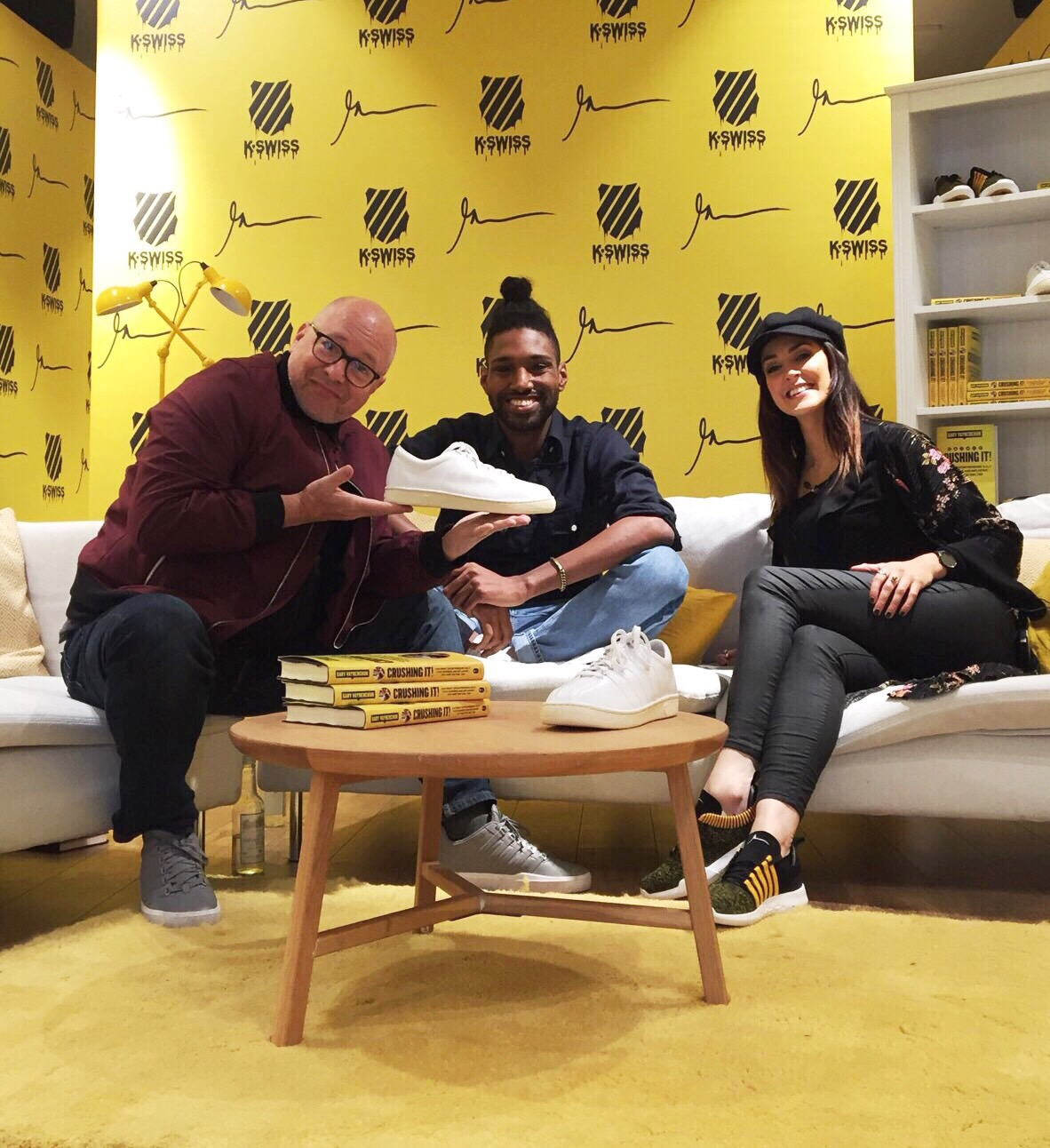 CEO'S WEAR SNEAKERS PODCAST - ON CONJUNCTION WITH GARY V AND K.SWISS