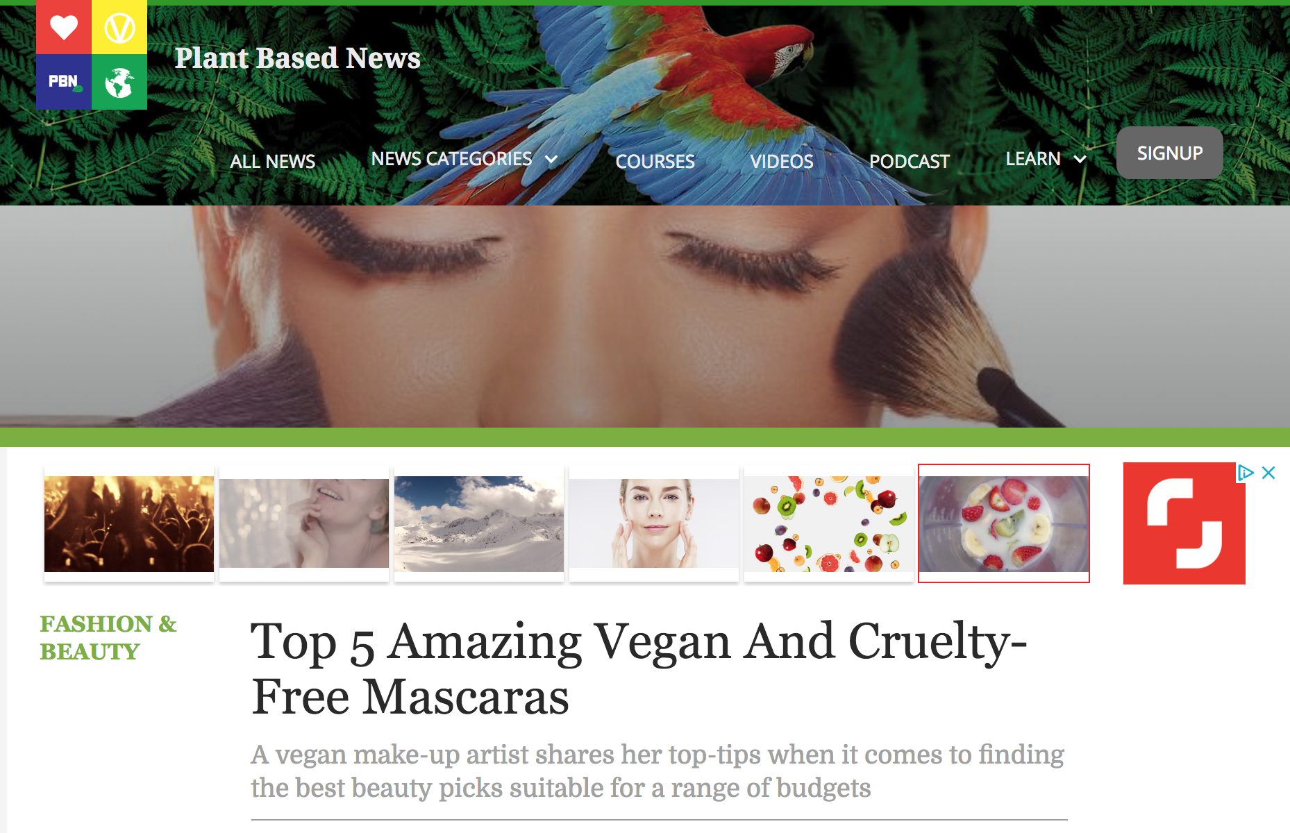 PLANT BASED NEWS - REGULAR ARTICLES