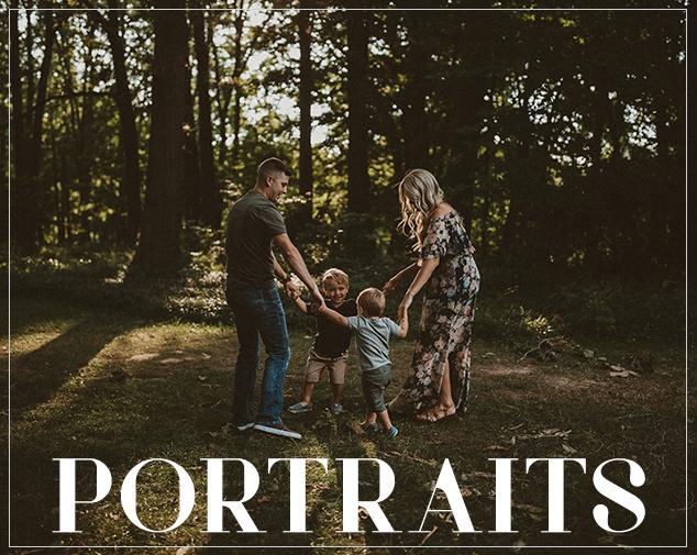 oh deer photography // portrait gallery // ohio