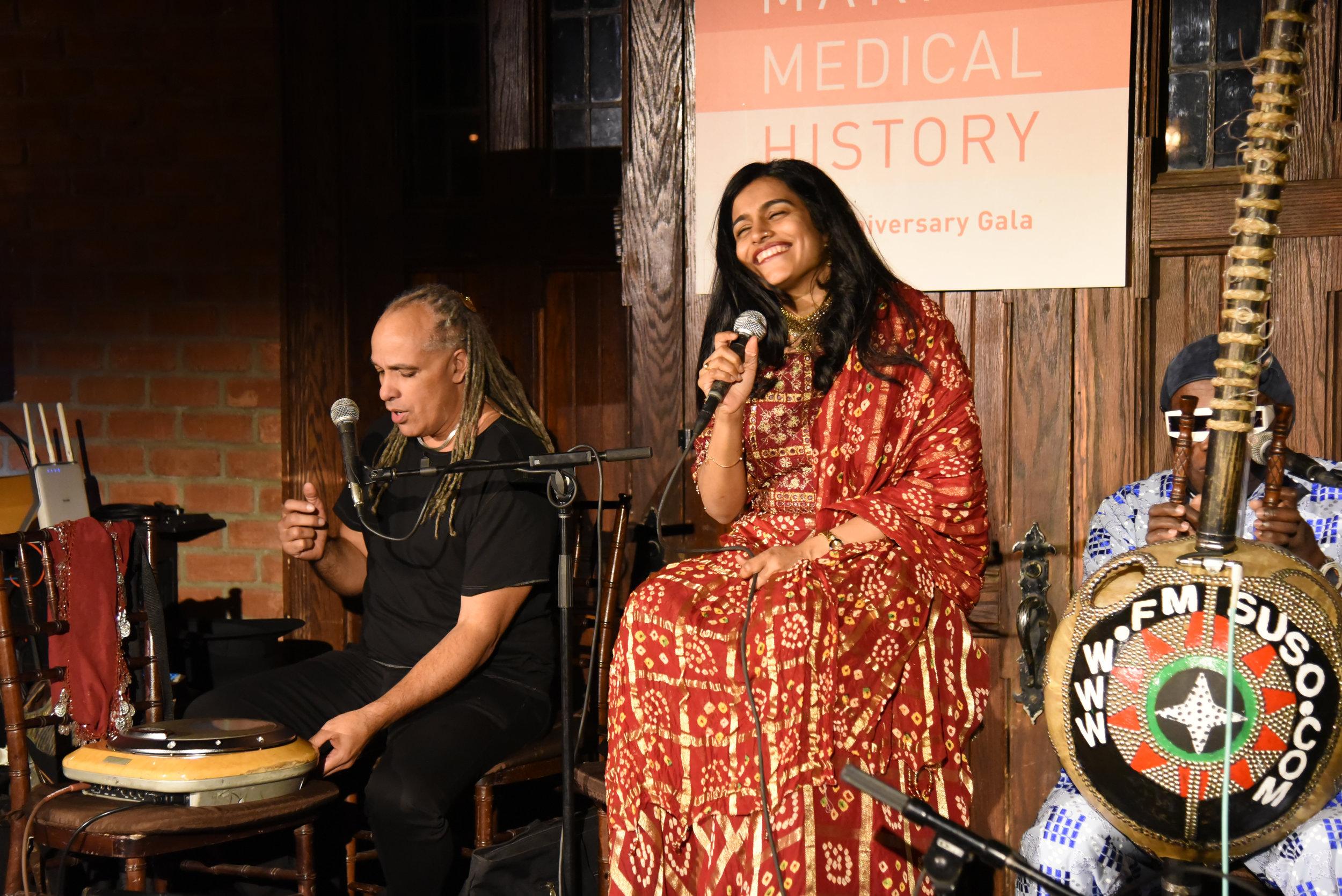 Mino Cinélu, Falu Shah and Foday Musa Suso