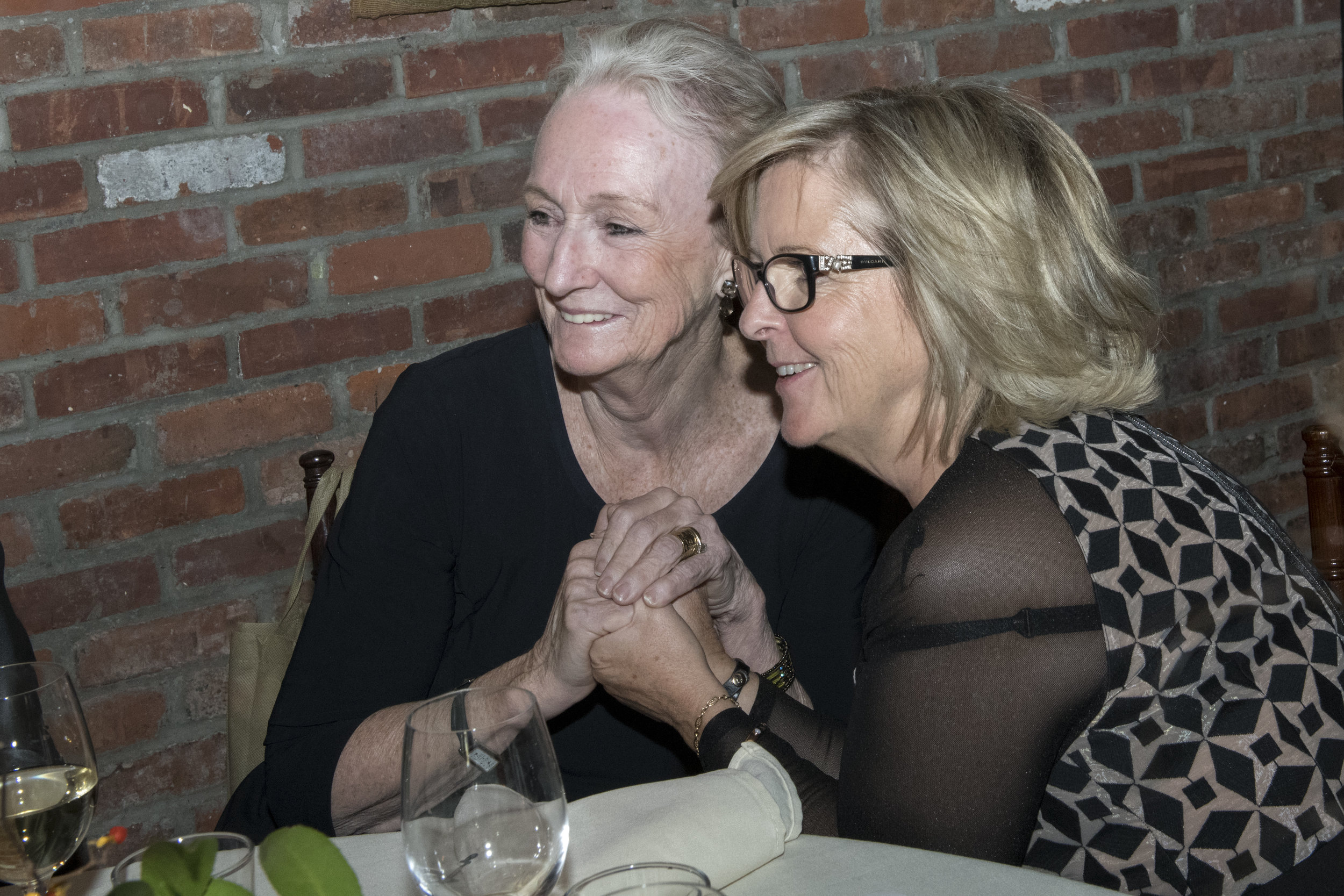Kathleen Chalfant and Joelle Tanguy