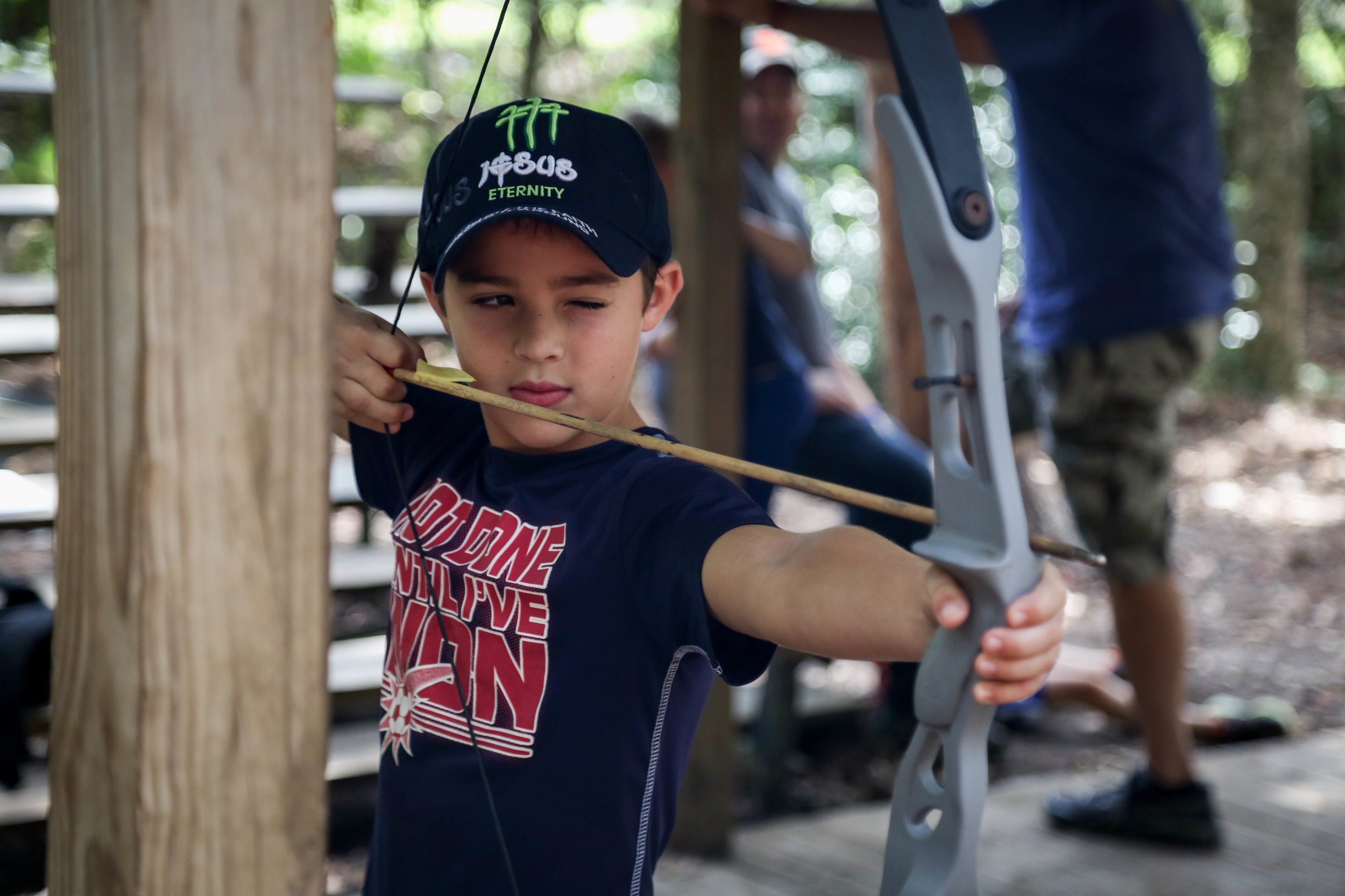 ARCHERY • ZIPLINES • BLOBS • GAGA BALL • ROCK WALLS • HORSES • CANOES • PADDLEBOARDS • SPORTS • SKITS • SONGS + MUCH, MUCH MORE! -