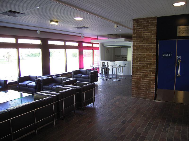 Original foyer, 2010.