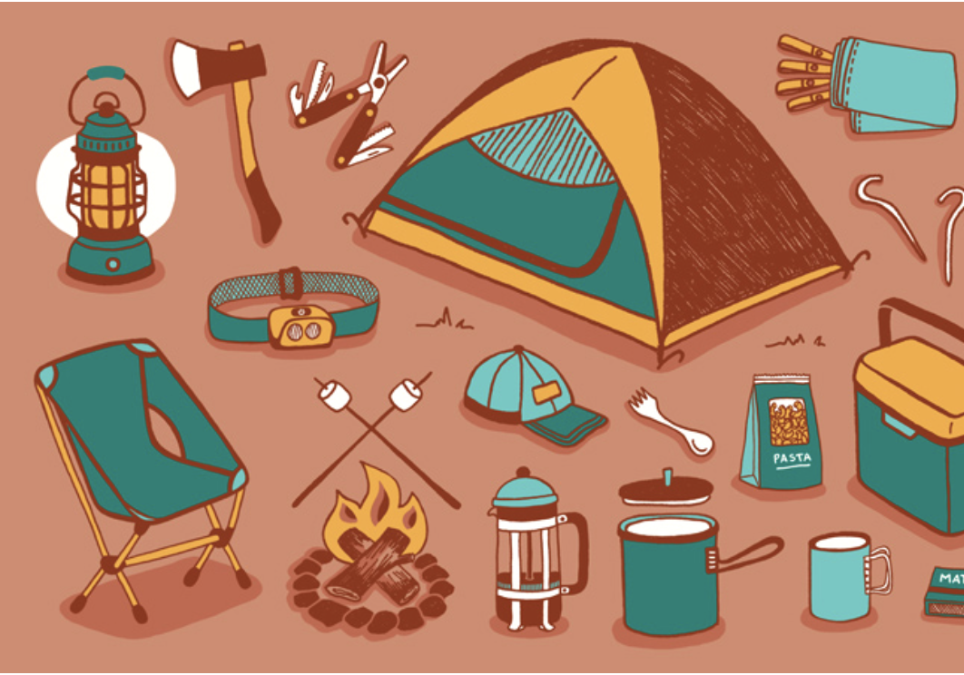 A link to REI's camping packing list.  You won't need everything they list there, but we found it helpful.