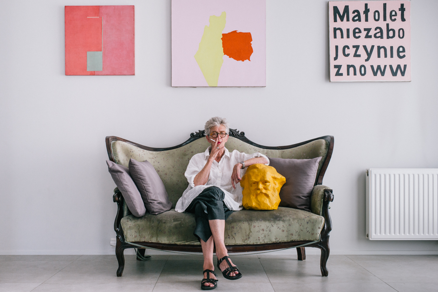 "Anda Rottenberg is a Polish art historian, art critic, writer, former director of the Zachęta National Gallery of Art in Warsaw and member of the International Association of Art Critics (AICA), International ""Manifesta"" Foundation and the International ""Germinations"" Foundation."