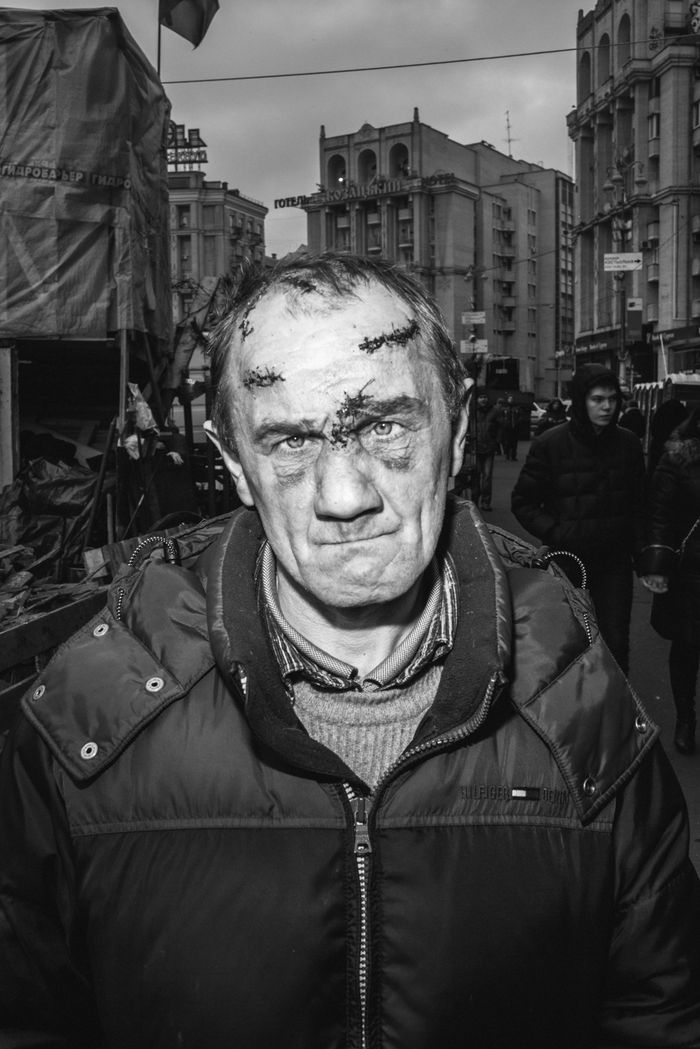 On February 18, 2014, bloody battles began in Kiev, Ukraine. I watched the traumatized people pay tribute to their heroes who died in the fight for freedom and sovereignty.