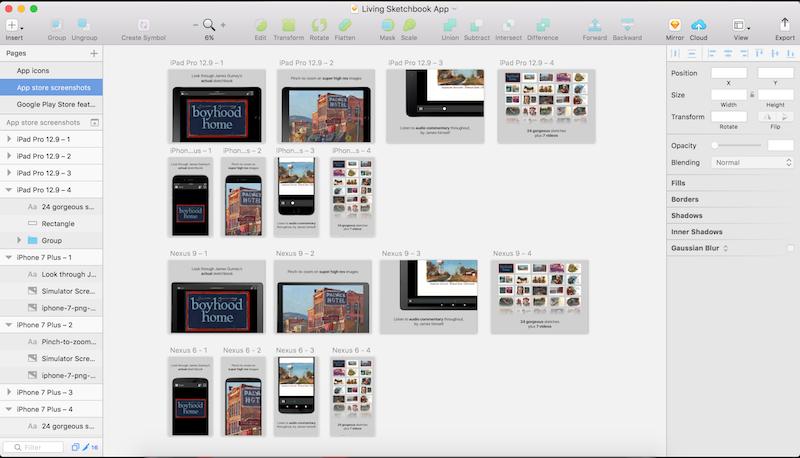 App Store Screenshots -