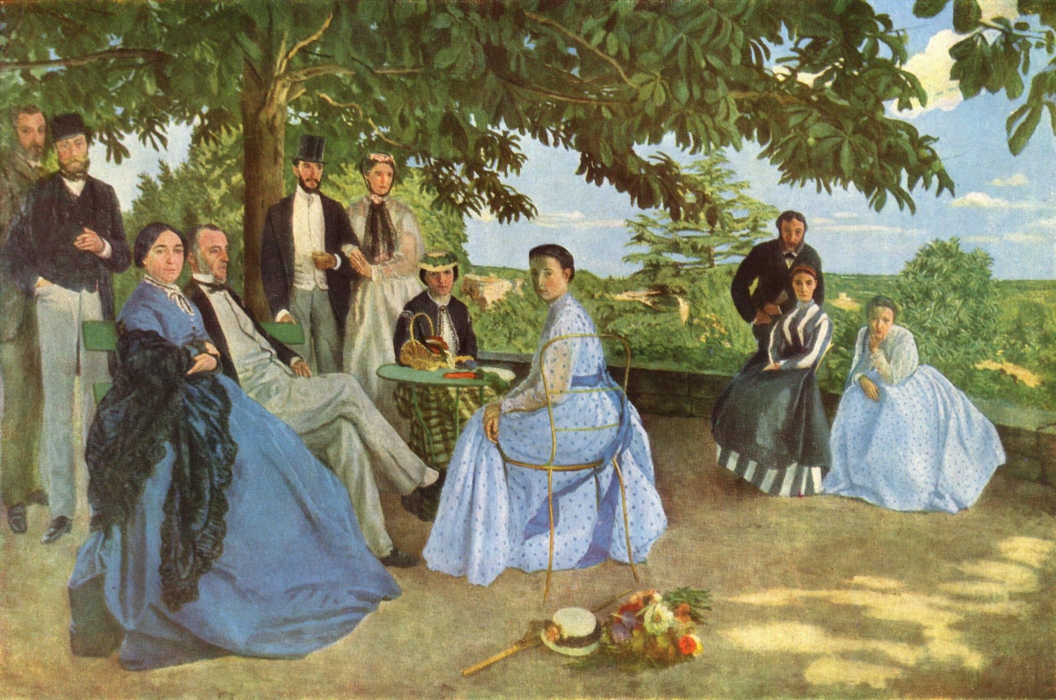 Painting by Frédéric Bazille