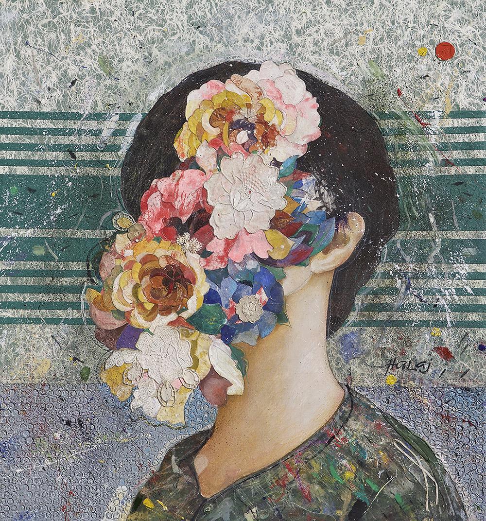 Minas Halaj -Floral Face #7