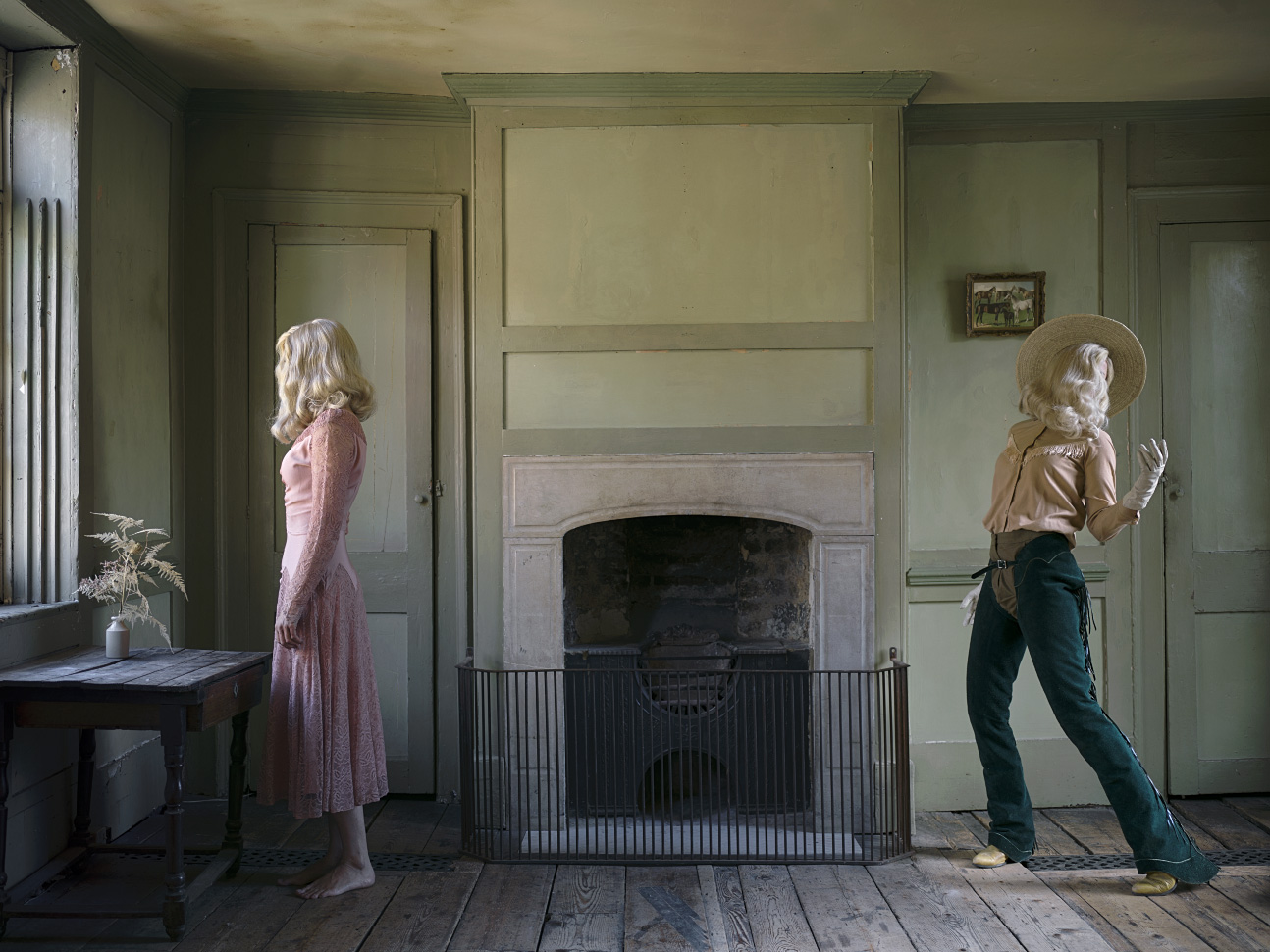 She Could Have Been A Cowboy © Anja Niemi -The Little Black Gallery