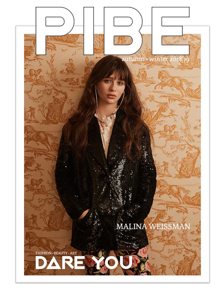 ON THE COVER Photography / Jason Kim Talent / Malina Weissman    BUY PIBE AW2018/19 PRINT ISSUE 7: £10.00      BUY PIBE AW2018/19 DIGITAL ISSUE 7: £4.50