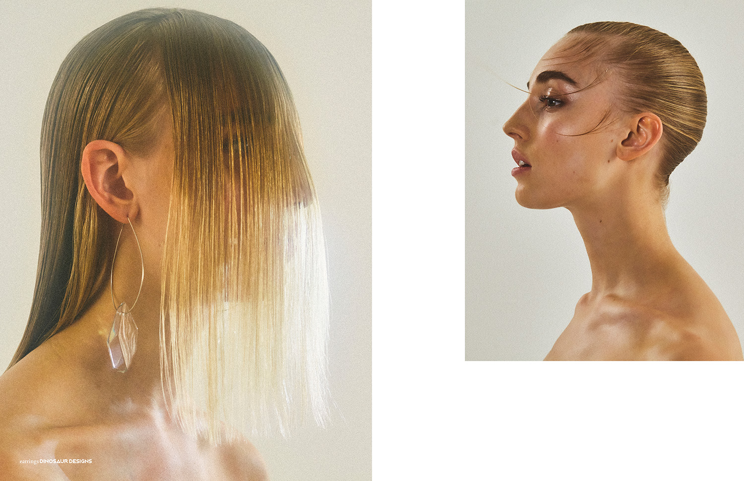 This PIBE online exclusive has been produced by:  Photography / Nathan Jenkins Styling / Tasha Arguile Hair / Ryuta Saiga using Bumble and Bumble Make up / Riona O'Sullivan using Glossier Models / Ava Hilmars @Premier, Josie Lane @IMG
