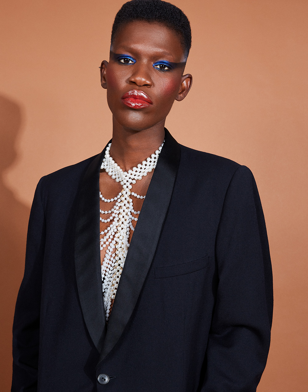 blazer JUNYA WATANABE, necklace Stylist's Own