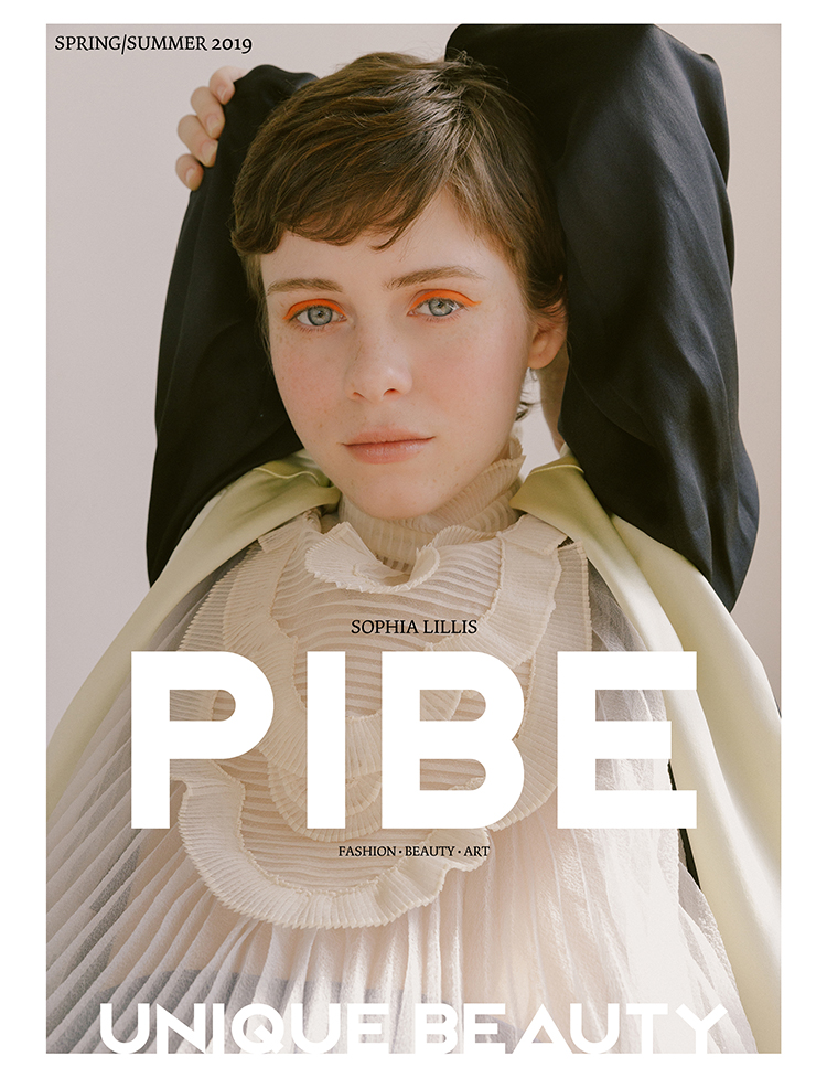 ON THE COVER Photography / Heidi Tappis Talent / Sophia Lillis    BUY PIBE SS2019 PRINT ISSUE 8      BUY PIBE SS2019 DIGITAL ISSUE 8: £4.99