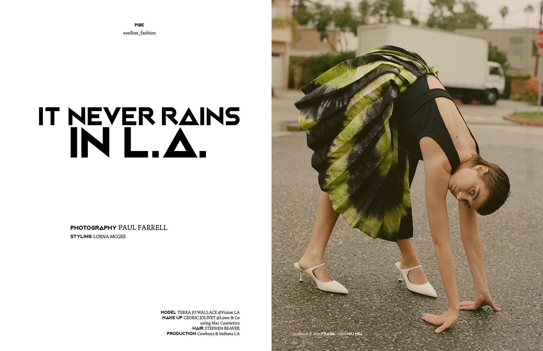 PIBE Magazine It never rains in LA.jpg