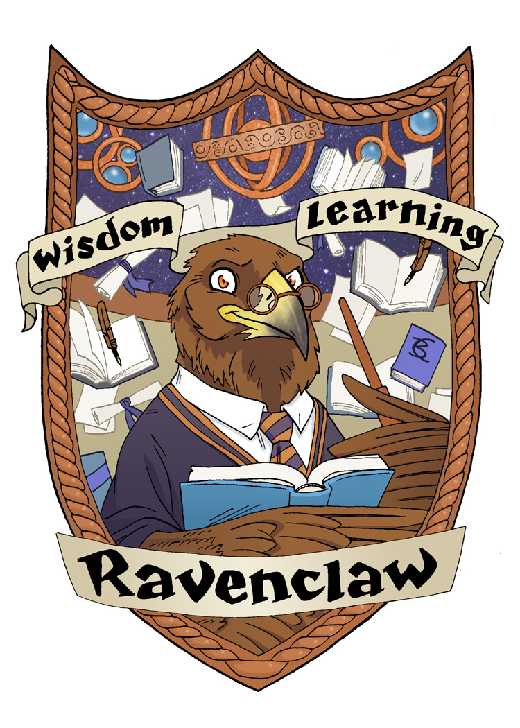 Ravenclaw Eagle for the Muggles Market