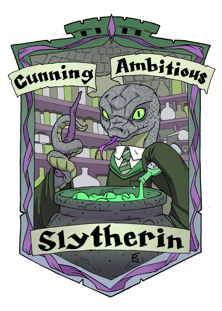 Slytherin Snake for the Muggles Market