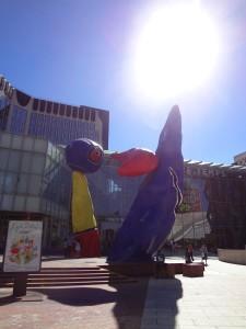 Modern art at La Défense