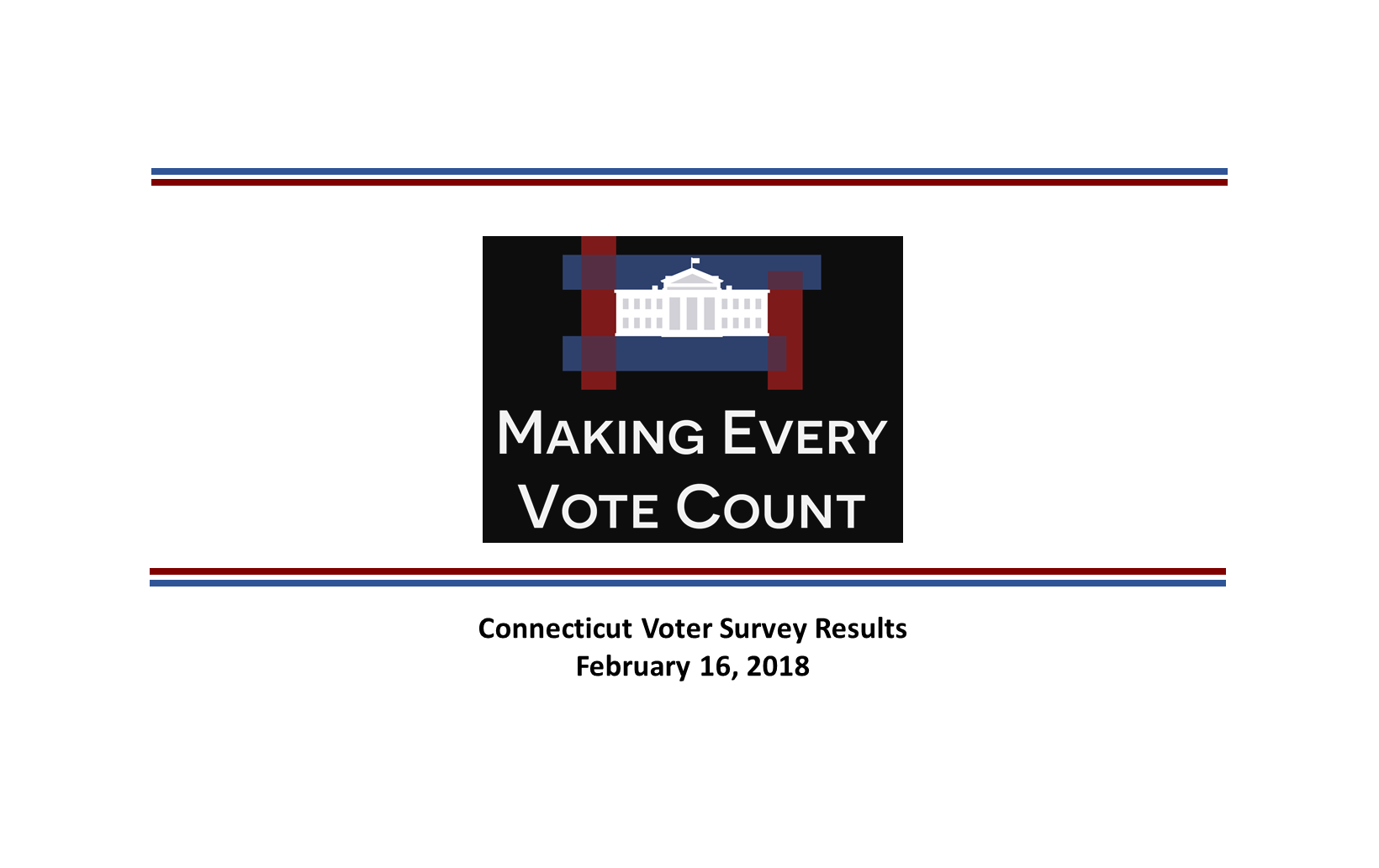 Connecticut Poll on NPV
