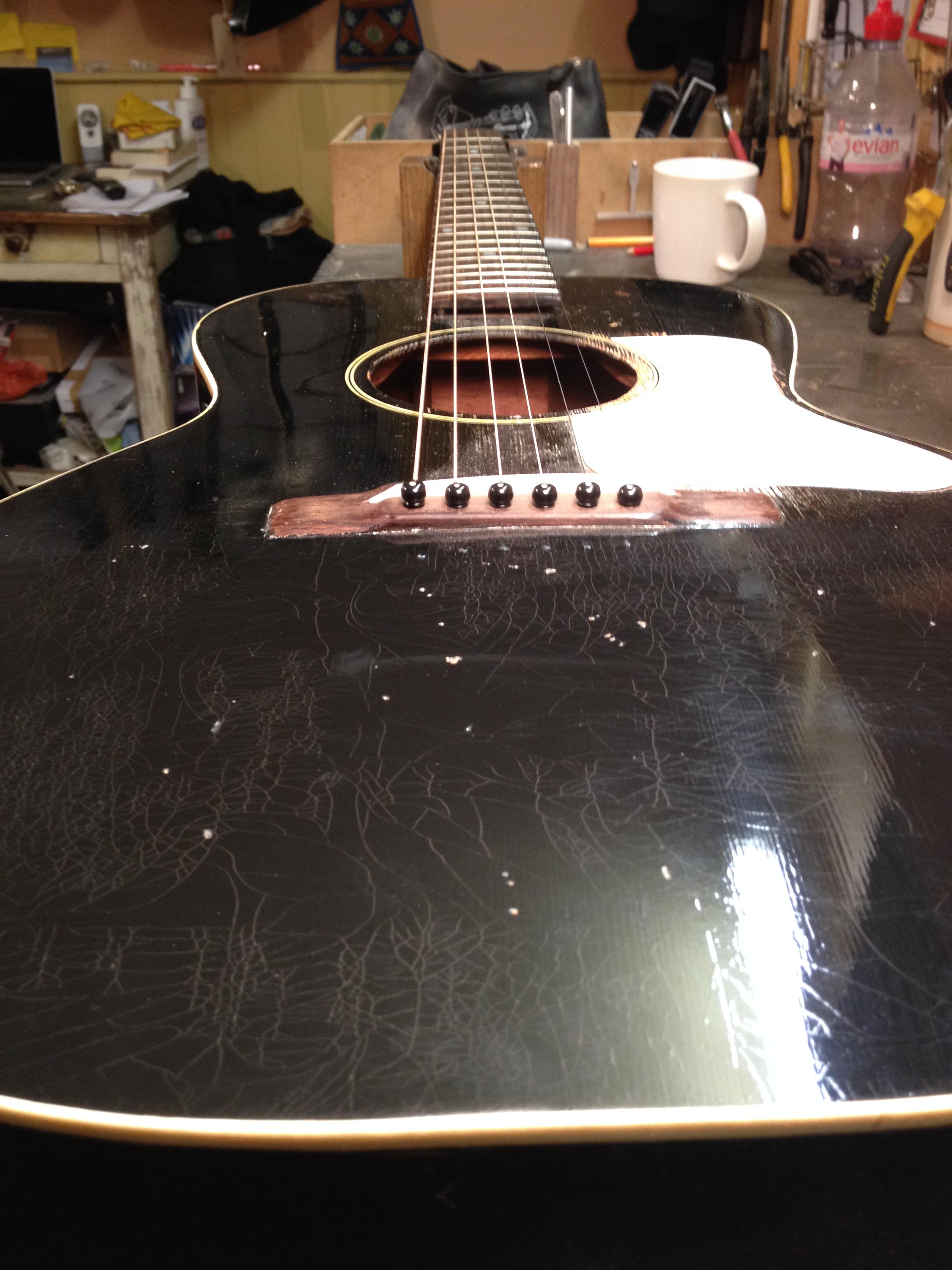 1930's Gibson L-0 ( neck reset )