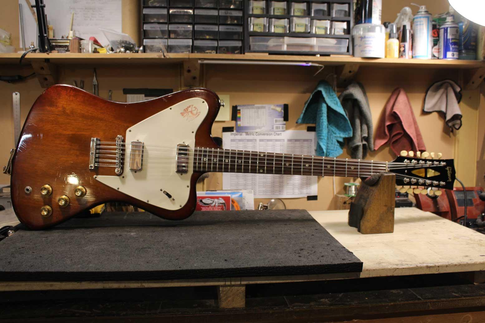 1965 Gibson non-reverse Firebird 12 string