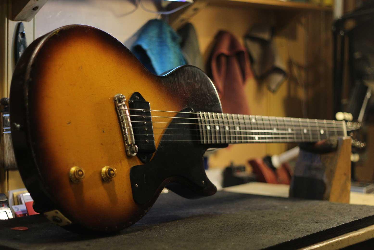 1955 Gibson LP Junior ( refret )