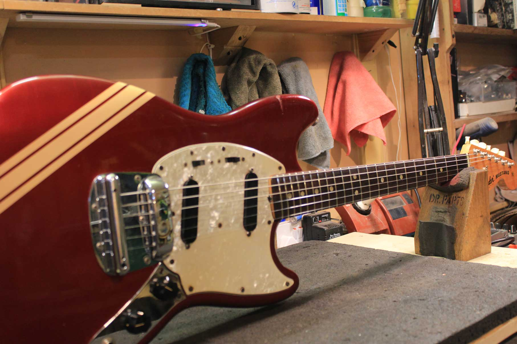 1972 Fender Mustang Competition Stripe