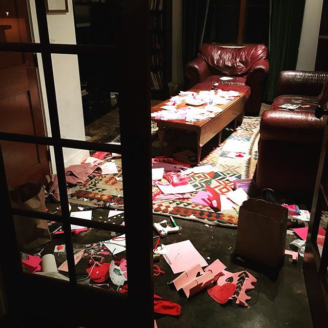 Valentine production aftermath