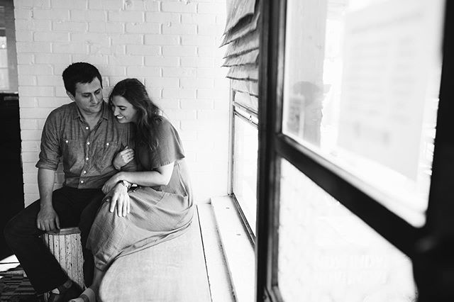 I love taking engagement photos where couples had their first date!!