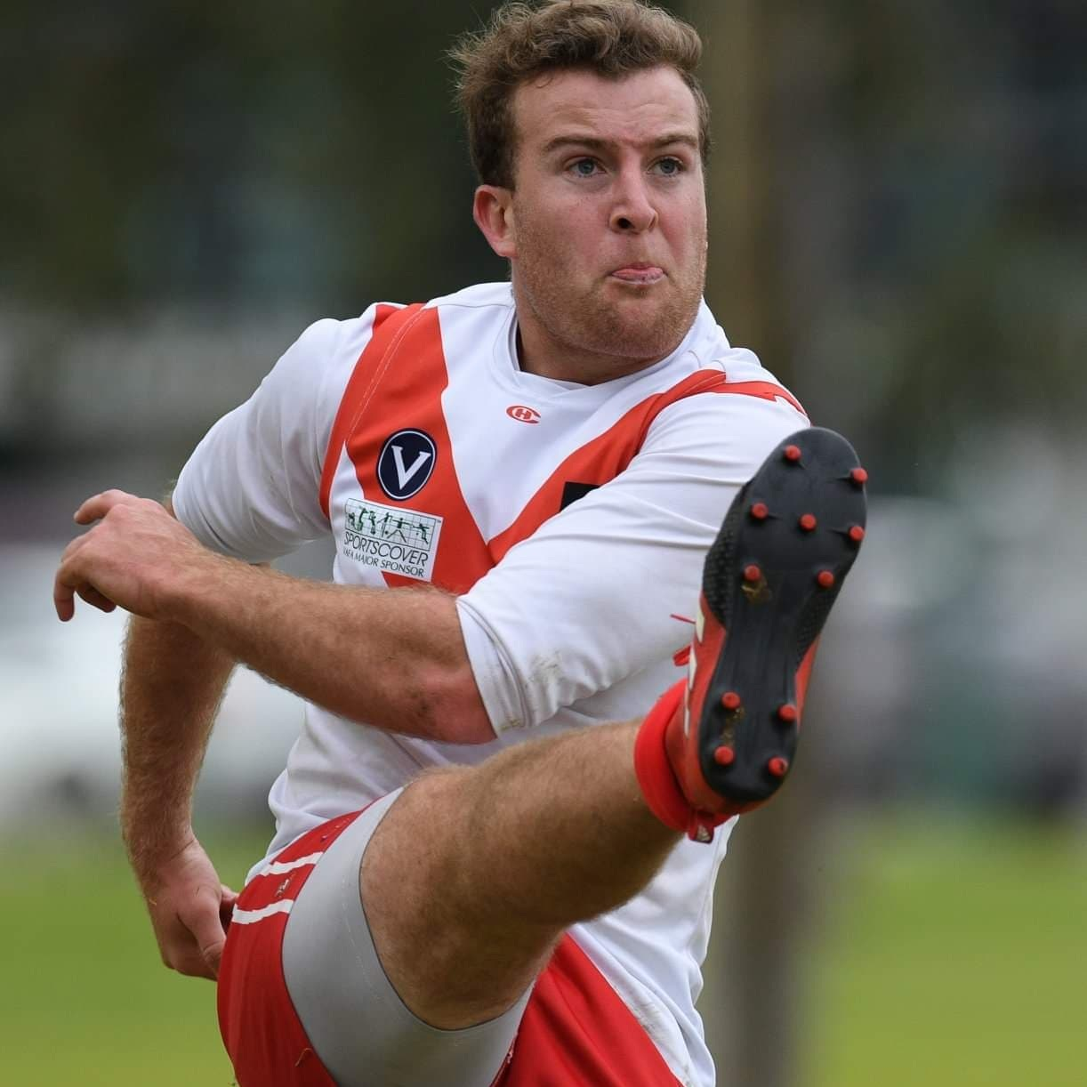 Jack S  #24 is being worn by Jack S this season- Jack comes to SMDFC as a hockey convert due to the lack of contact in hockey! He has 9 years of footy experience under his belt and sites winning the 2019 Premiership at Brunswick CC as his all time sporting achievement- a man of many sports! Off the ground you'll find Jack avoiding shower time after the game and spending time with his family. A little known fact about Jack: He is a US citizen!!