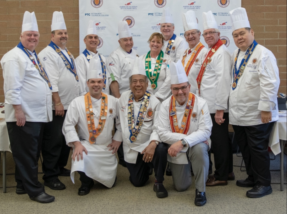 Jeune Commis Competitors and Judges - Special thanks to our esteemed judges from across the country!!