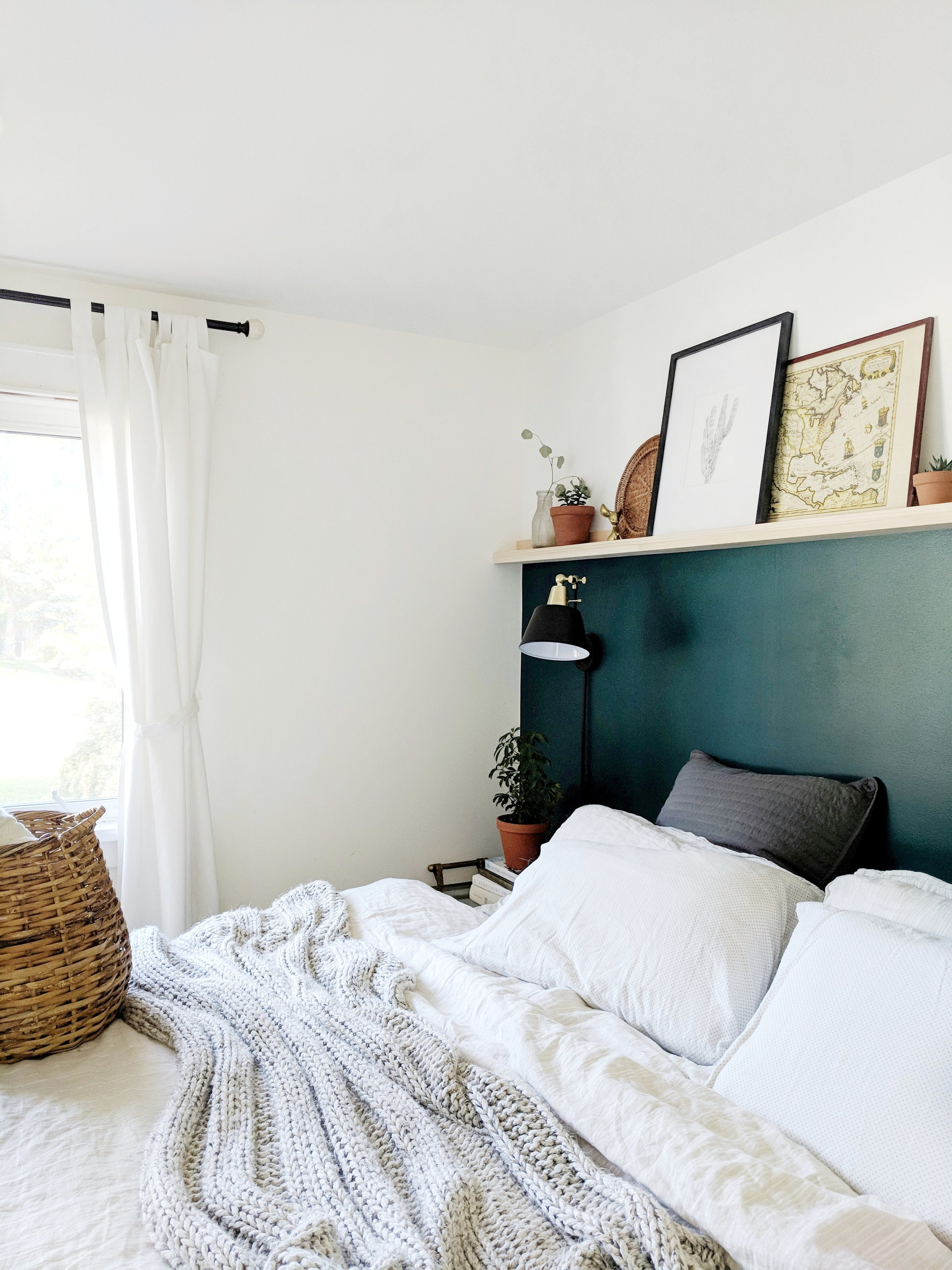 Master Bedroom Wall To Wall Picture Ledge K I R S T E N D I A N E