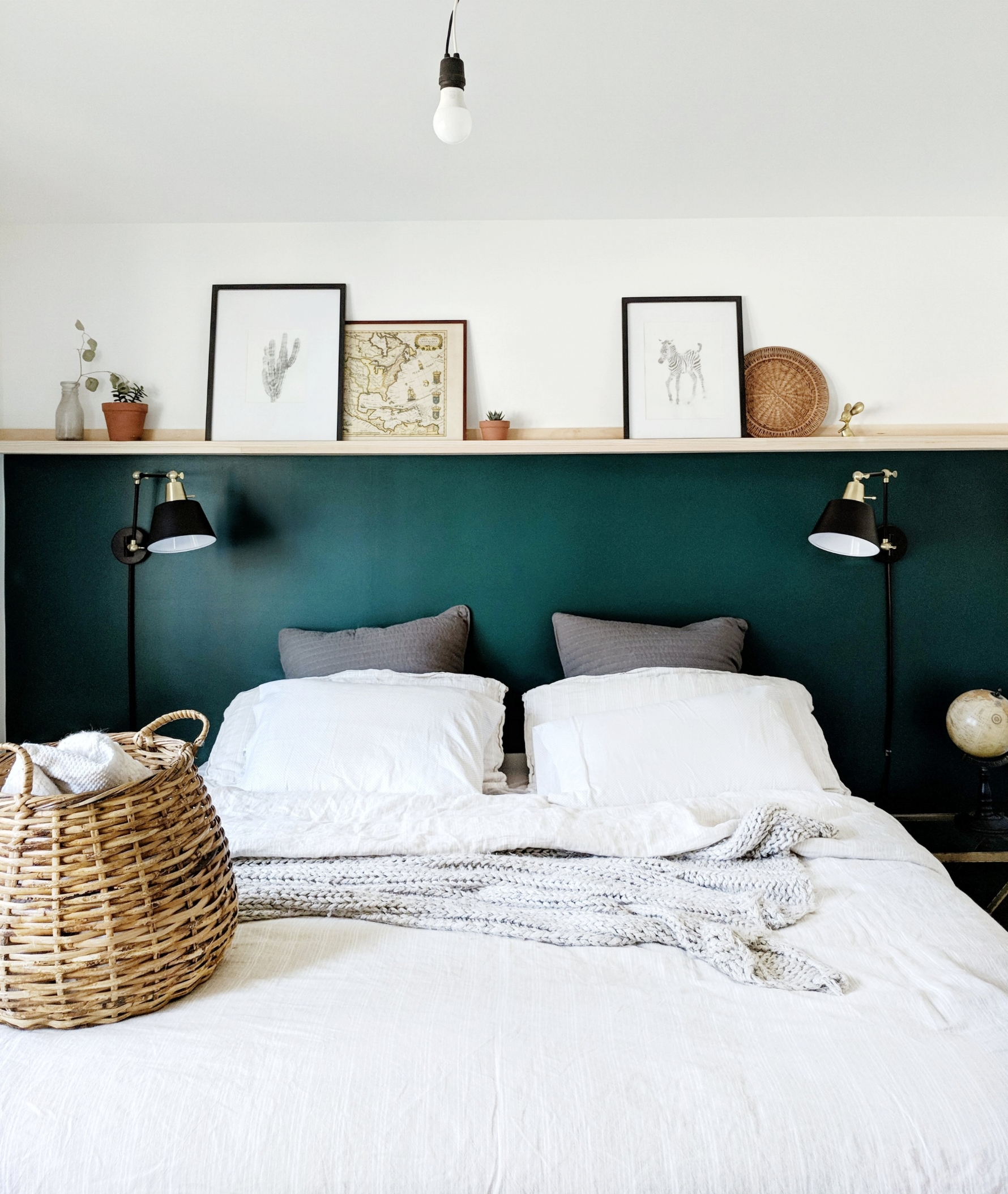 Master Bedroom Wall To Picture Ledge K I R S T E N D A
