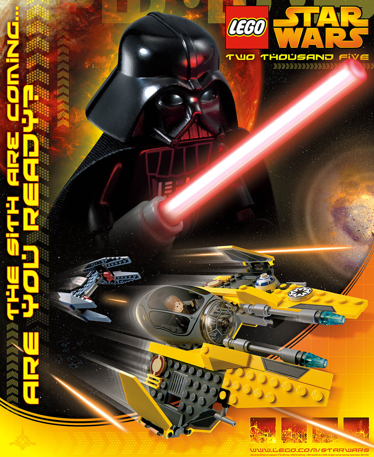Lego Star Wars, Promotional