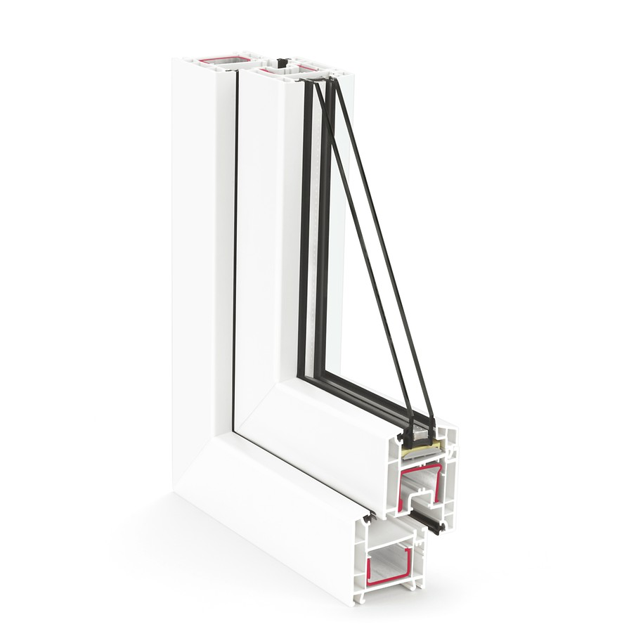 German Quality uPVC Windows -  Here at Noise Plaster, we pride ourselves in providing windows that are ideal for the requirements of all projects.The 60mm system with 3 chambers offers  a reliable soundproofing solution which is both economical and efficient.Aside from quality sound isolation, the two seals protect against dust, wind and rain. The smooth surface and the design of the profiles are ideal for fuss-free maintenance and easy cleaning.