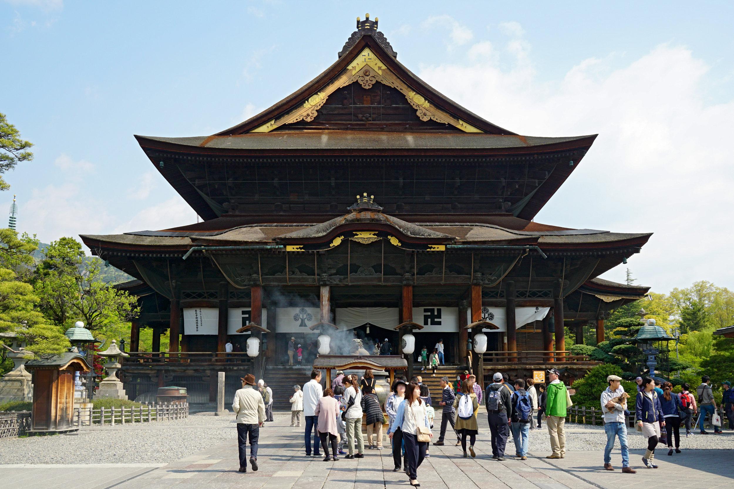Zenkoji Temple. Photo by  663highland