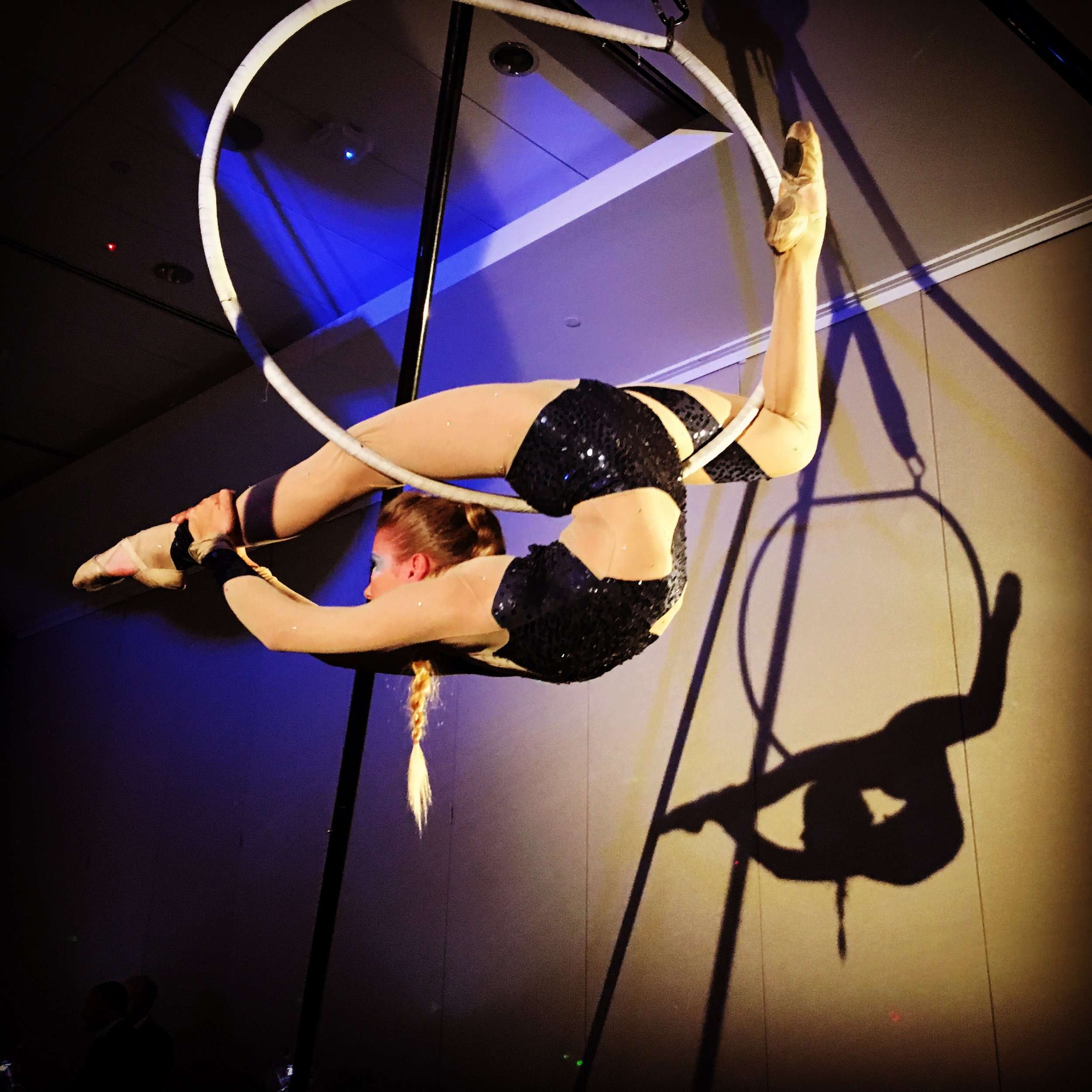aerialist Raleigh Live Performance for Hire